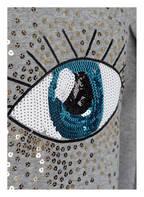 name it Sweatshirt mit Paillettenbesatz, Farbe: GRAU MELIERT (Bild 1)