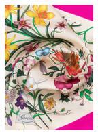 GUCCI Seidentuch, Farbe: IVORY/ FUCHSIA (Bild 1)