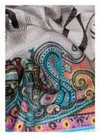 ETRO Seidenschal DELHY , Farbe: MINT/ GRAU/ SCHWARZ (Bild 1)