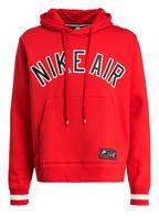 Nike Hoodie AIR, Farbe: ROT (Bild 1)