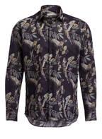 ETRO Hemd Slim Fit mit Leinenanteil, Farbe: NAVY GEMUSTERT (Bild 1)