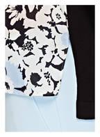 WEEKEND MaxMara Pullover , Farbe: SCHWARZ/ CREME/ HELLBLAU (Bild 1)