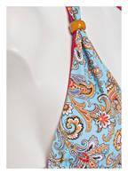 ETRO Triangel-Bikini, Farbe: HELLBLAU/ GELB (Bild 1)