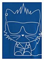 KARL LAGERFELD KIDS Sweatshirt, Farbe: BLAU (Bild 1)