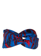 KENZO Kopfband aus Seide, Farbe: BLAU (Bild 1)