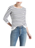 DARLING HARBOUR Pullover, Farbe: WEISS/ NAVY GESTREIFT (Bild 1)