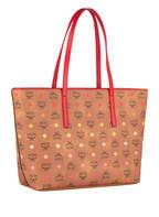 MCM Shopper ANYA SPEKTRUM VISETOS, Farbe: COGNAC/ ROT (Bild 1)