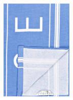 SEAFOLLY Strandtuch, Farbe: HELLBLAU/ WEISS (Bild 1)