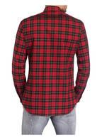 DSQUARED2 Hemd Slim Fit, Farbe: ROT/ SCHWARZ KARIERT (Bild 1)