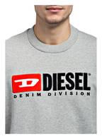 DIESEL Sweatshirt CREW DIVISION, Farbe: GRAU MELIERT (Bild 1)