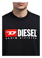 DIESEL Sweatshirt S-CREW-DIVISION , Farbe: SCHWARZ (Bild 1)