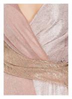 TALBOT RUNHOF Abendkleid SOLBERG 1, Farbe: ROSA/ SILBER/ GOLD (Bild 1)