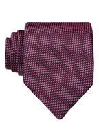 BOSS Krawatte, Farbe: ROT/ DUNKELBLAU/ WEISS (Bild 1)