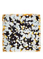 BOSS Seidentuch LIHARA, Farbe: HELLBLAU/ NAVY/ GOLD (Bild 1)