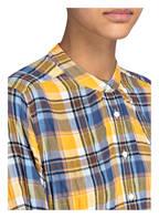 CLOSED Bluse, Farbe: DUNKELGELB/ BLAU/ HELLBLAU KARIERT (Bild 1)