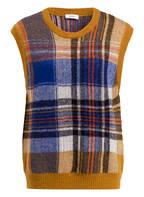 CLOSED Pullunder, Farbe: GELB/ BLAU/ ROT GESTREIFT (Bild 1)