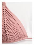 PILYQ Triangle-Bikini-Top RIV, Farbe: ROSA (Bild 1)