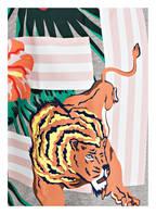 KENZO Sweatkleid JUNGLE TIGER, Farbe: GRAU MELIERT (Bild 1)