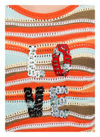 RIANI Pullover, Farbe: ORANGE/ MINT/ KHAKI (Bild 1)