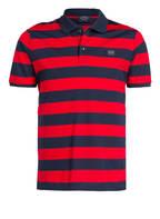 PAUL & SHARK Piqué-Poloshirt, Farbe: DUNKELBLAU/ ROT GESTREIFT (Bild 1)
