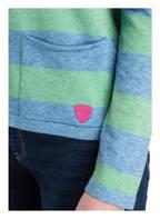 Betty Barclay Pullover, Farbe: BLAU/ HELLGRÜN (Bild 1)