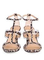 UNISA Sandaletten SAGUNTO, Farbe: BEIGE/ SCHWARZ/ BRAUN (Bild 1)