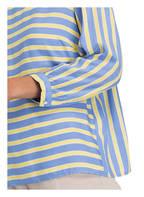 MORE & MORE Bluse, Farbe: BLAU/ GELB (Bild 1)