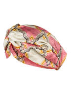 GUCCI Haarband aus Seide, Farbe: ROSA/ ECRU/ GELB (Bild 1)