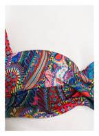 CYELL Bügel-Bikini-Top ETERNAL SUNSHINE, Farbe: ROT/ BLAU/ TÜRKIS (Bild 1)