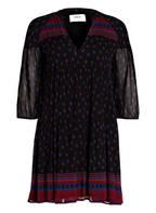 ba&sh Kleid BAILEY, Farbe: SCHWARZ/ DUNKELROT (Bild 1)