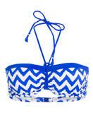 Freya Bandeau-Bikini-Top MAKING WAVES, Farbe: BLAU/ WEISS (Bild 1)