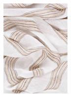 BRUNELLO CUCINELLI Leinenschal, Farbe: WEISS/ BEIGE (Bild 1)