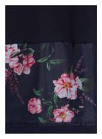 BETTY&CO Sweatshirt im Materialmix, Farbe: DUNKELBLAU (Bild 1)