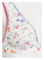 BANANA MOON COUTURE Triangel-Bikini-Top RICATO PALERMO, Farbe: WEISS/ GRÜN/ PINK (Bild 1)