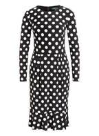 LAUREN RALPH LAUREN Kleid, Farbe: SCHWARZ/ WEISS (Bild 1)