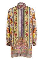 ETRO Oversized-Bluse mit Seidenanteil, Farbe: HELLGRÜN/ GELB/ ROT (Bild 1)