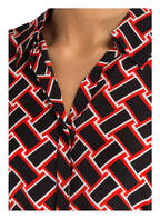 DIANE VON FURSTENBERG Blusenkleid, Farbe: SCHWARZ/ WEISS/ ROT (Bild 1)