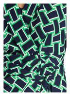 DIANE VON FURSTENBERG Wickelkleid CARLA, Farbe: DUNKELBLAU/ GRÜN (Bild 1)