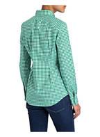 POLO RALPH LAUREN Bluse, Farbe: GRÜN/ WEISS KARIERT (Bild 1)
