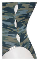 watercult Badeanzug CAMO LUXE, Farbe: GRÜN/ OLIV CAMOUFLAGE (Bild 1)