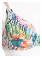 Lidea Bügel-Bikini WAIKIKI BEACH, Farbe: PINK/ GRÜN/ DUNKELBLAU (Bild 1)