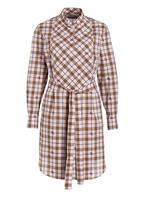 BURBERRY Kleid CAKTUS, Farbe: ROSÉ/ BEIGE/ SCHWARZ KARIERT (Bild 1)