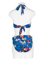LAUREN RALPH LAUREN Neckholder-Bikini-Top , Farbe: BLAU/ GELB/ ROT (Bild 1)