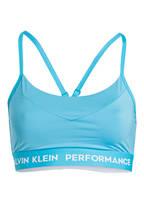 Calvin Klein Performance Sport-BH, Farbe: HELLBLAU (Bild 1)