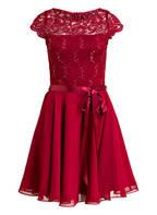 SWING Kleid, Farbe: DUNKELROT (Bild 1)