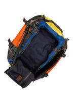 POLO RALPH LAUREN Reisetasche auch als Rücksack tragbar, Farbe: BLAU/ ORANGE/ GELB (Bild 1)