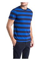 POLO RALPH LAUREN T-Shirt, Farbe: BLAU/ DUNKELBLAU GESTREIFT (Bild 1)
