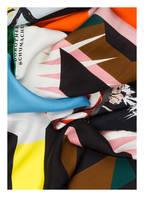 DOROTHEE SCHUMACHER Seidenschal, Farbe: HELLROSA/ GRÜN/ TÜRKIS (Bild 1)