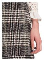 CLAUDIE PIERLOT Tweed-Rock SIENA, Farbe: SCHWARZ/ WEISS (Bild 1)
