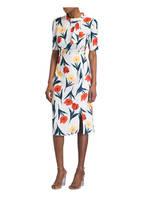 Phase Eight Kleid MELINDA, Farbe: IVORY/ DUNKELGRÜN (Bild 1)